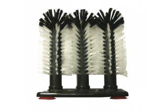 3 Brush Head Set Glass Cleaner Scrubber