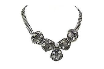 Antique Silver Necklace Pendant Fancy Dress Prom Party Gift Costume Jewellery for Women