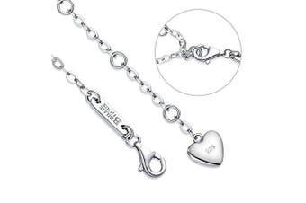 (1-silver) - Billie Bijoux Womens 925 sterling Silver Infinity Endless Love Symbol Charm Adjustable Bracelet Mother's Day