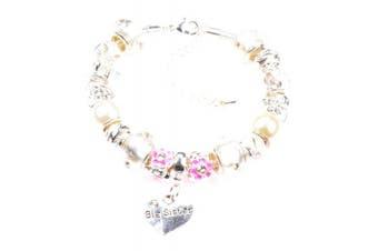 (Purple) - Beautiful Charm Bracelet for a Big Sister