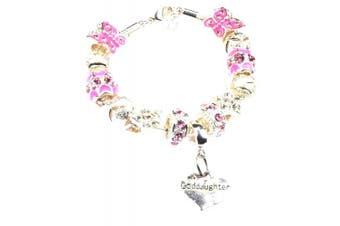 (Purple) - Charm Bracelet for Goddaughter