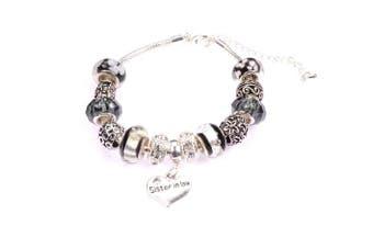 (Black) - Charm Bracelet for Sister in Law