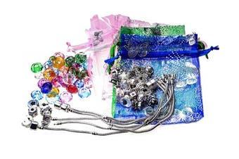 Charm Bracelet DIY Kit for 5 Bracelets