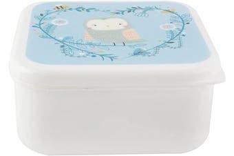 Sass Belle Bento Owl Woodland Animal Box Lunchbox Lunch Dinner Food Storage