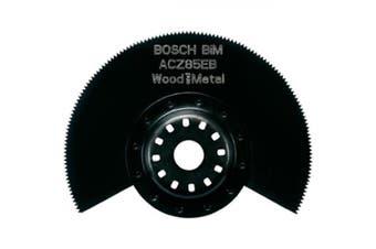 Bosch Starlock Acz 85 Eb Bim Segment Saw Blade Wood And Metal For All Pmf Multi-