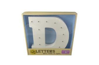 Large LED Light Up Letters (D)