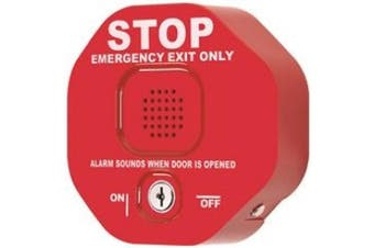 (1 Pack) - Exit Stopper STI-6400 Multifunction Door Alarm