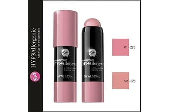 (01 - 225) - 225-226 Bell HYPOAllergenic CREAMY ROUGE GLOW STICK Long Lasting MODDELING BLUSH (01 - 225)