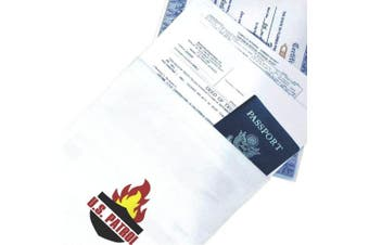 Us Patrol Fire Resistant Document Bag