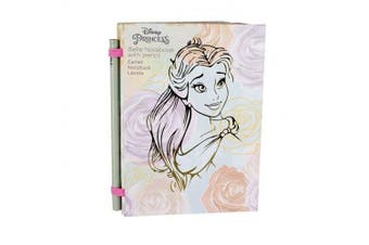 Disney Princess Belle Notebook A6 200 Page Lined Pad