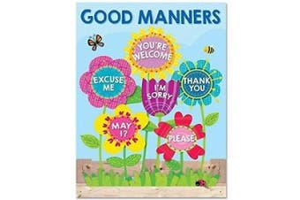 Good Manners Garden Chart - Classroom Display - Poster - Teaching