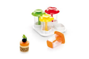 """Tescoma """"Presto Foodstyle"""" 4 Shapes Canape Makers, Assorted"""