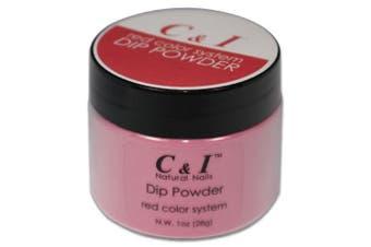 C & I Dipping Powder Colour No.007 Magenta Red Colour System