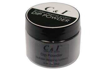 C & I Dipping Powder Colour No.004 Black Builder Colour System