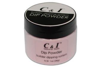 C & I Dipping Powder Colour No.002 Transparent Pink Builder Colour System