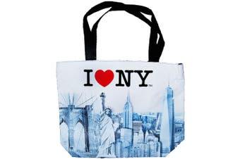 (I Heart NY) - New York City Skyline Designer Picture Large Souvenir Bags (I Heart NY)