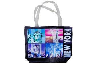 (NYC Landmarks) - New York City Skyline Designer Picture Large Souvenir Bags (NYC Landmarks)