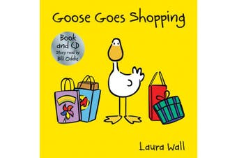 Goose Goes Shopping (book&CD) (Goose by Laura Wall)