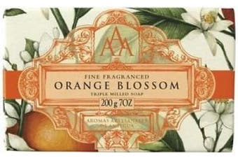 Aaa Floral Orange Blossom Triple Milled Soap 200g