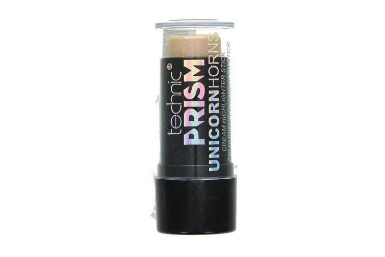 Technic Prism Unicorn Rainbow Cream Highlighter Stick Gold Highlighting Make Up