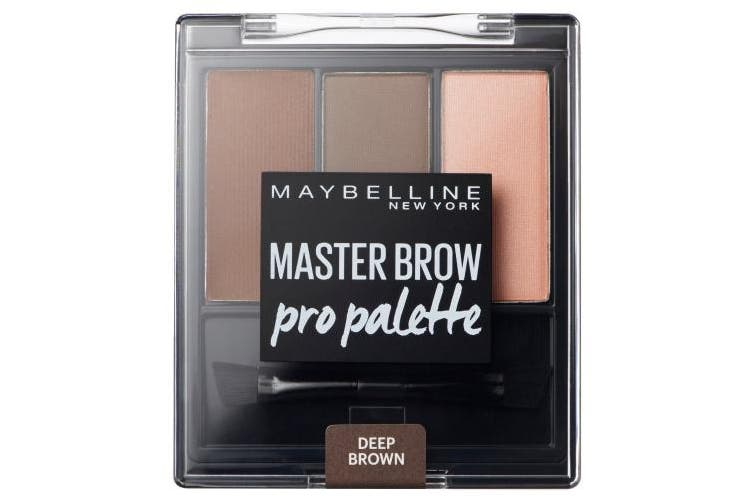 Maybelline Master Brow Pro Palette, Deep Brown
