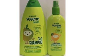 Vosene Kids Lice Repellent 3in1 Shampoo 250ml & Conditioning Defence Spray 150ml