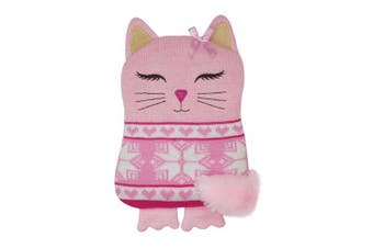 Aroma Home Cat Microwaveable Knitted Hottie