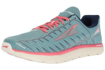 (10 D US, Light Blue/Coral) - Altra Women's One V3 Running-Shoes