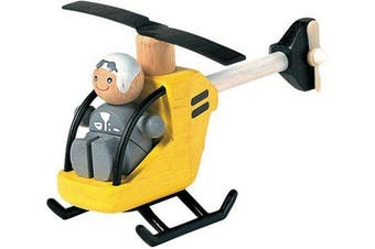 Plan Toys 6060 Helicopter with Pilot