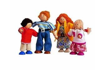 Plan Toy Modern Doll Family #7142 by PlanToys
