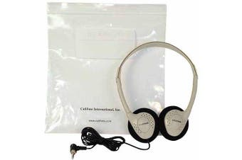 Califone CA-2 Stereo Headphones with Resealable Storage Bag