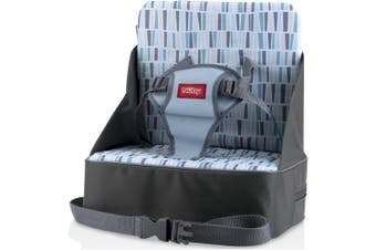 Nuby Fabric Booster Seat, Grey