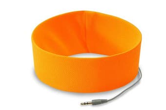 RunPhones Headphones, Small, Orange Exuberance