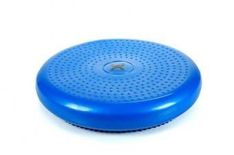 (Blue, 13.8 Inches diameter) - CanDo 30-1870B Inflatable Vestibular Disc, Blue, 35cm Diameter