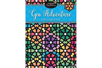 Cra-Z-Art Timeless Creations GEO ADVENTURES Colouring Book