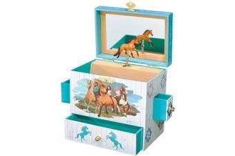 (Spirit & Lucky) - Breyer Spirit and Lucky Musical Jewellery Box