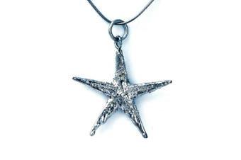 (Starfish Platinum) - Real Natural Leaf Ana Morales Women's Pendant