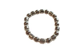 Colourful 8mm Magnetic Hematite Healing Stretch Bracelet Arthritis Migraines Headaches - Choice of Colour - Approx 19cm