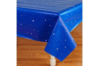 (One Size, Multi-colored) - Rocket to Space Party Supplies - Tablecover