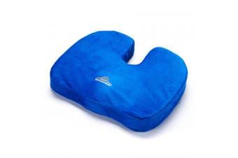 Black Mountain Products Orthopaedic Comfort and Stadium Seat Cushion Blue