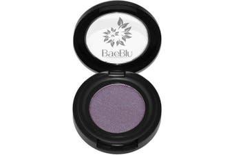 (Smokin' Plum) - Best Organic 100% Natural Vegan Eyeshadow Makeup, Made in USA, Finely Pressed Velvety Smooth Eyeshadow Pigment by BaeBlu, Smokin' Plum