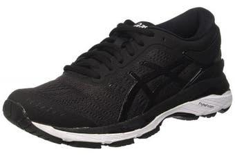 (4 UK, Black Black (Black / Phantom / White)) - ASICS Women's Gel-Kayano 24 Running Shoes