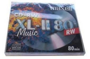 Maxell Cd-rw For Music - 80min