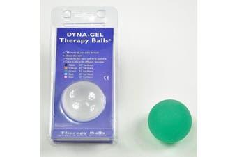 (25°, Green) - Dyna-Gel Therapy Balls - Green 25°
