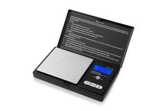 (TOP-100) - Weigh Gramme Scale Digital Pocket Scale,100g by 0.01g,Digital Grammes Scale, Food Scale, Jewellery Scale Black, Kitchen Scale (TOP-100)