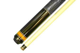 (25-Ounce) - Aska Jump Break Cue Stick JBC Fireball, 3pc Cue, Jump/Break Cue. 13mm Tip, Hard Rock Canadian Maple