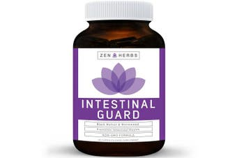 Intestinal Guard (NON-GMO) Worm & Intestinal Cleanse for Humans - Wormwood & Black Walnut- . - 60 Capsules …