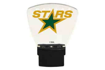 (Dallas Stars) - Authentic Street Signs NHL Officially Licenced-LED NIGHT LIGHT-Super Energy Efficient-Prime Power Saving 0.5 watt, Plug In-Great Sports Fan gift for Adults-Babies-Kids Room …