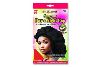 (Red) - Beauty Town Day & Night Cap (Jumbo Size) Red