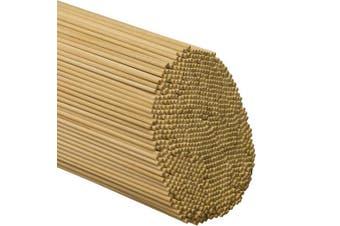 (Bag of 100) - Wooden Dowel Rods 0.3cm x 30cm - Bag of 100